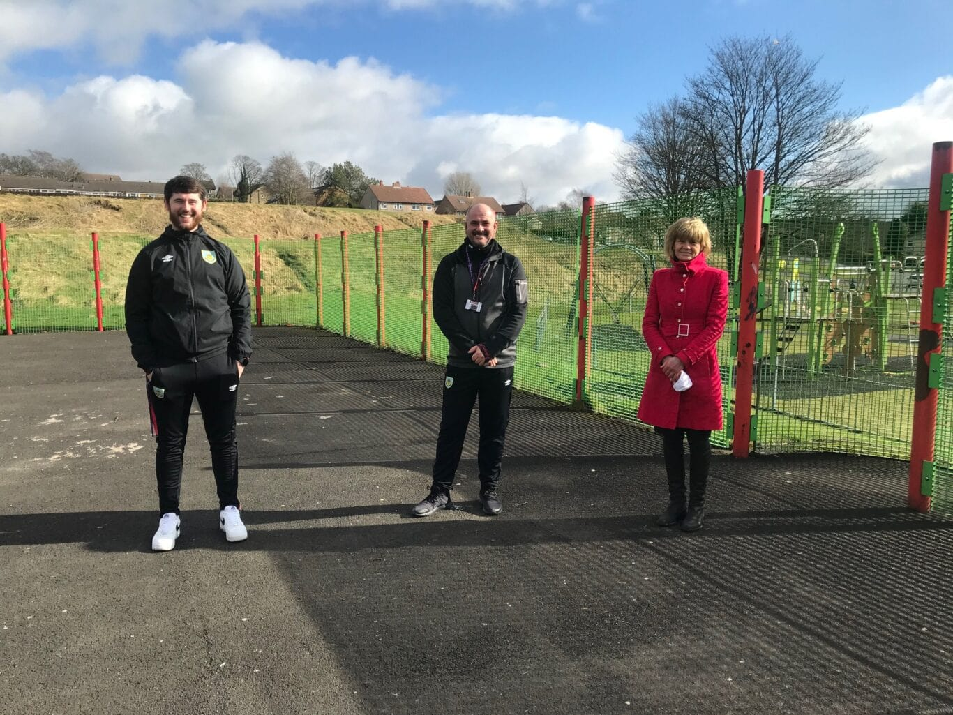 weekly 5 a side football with Burnley FC In The Community